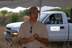Clay Salisbury, NRCS Soil Scientist