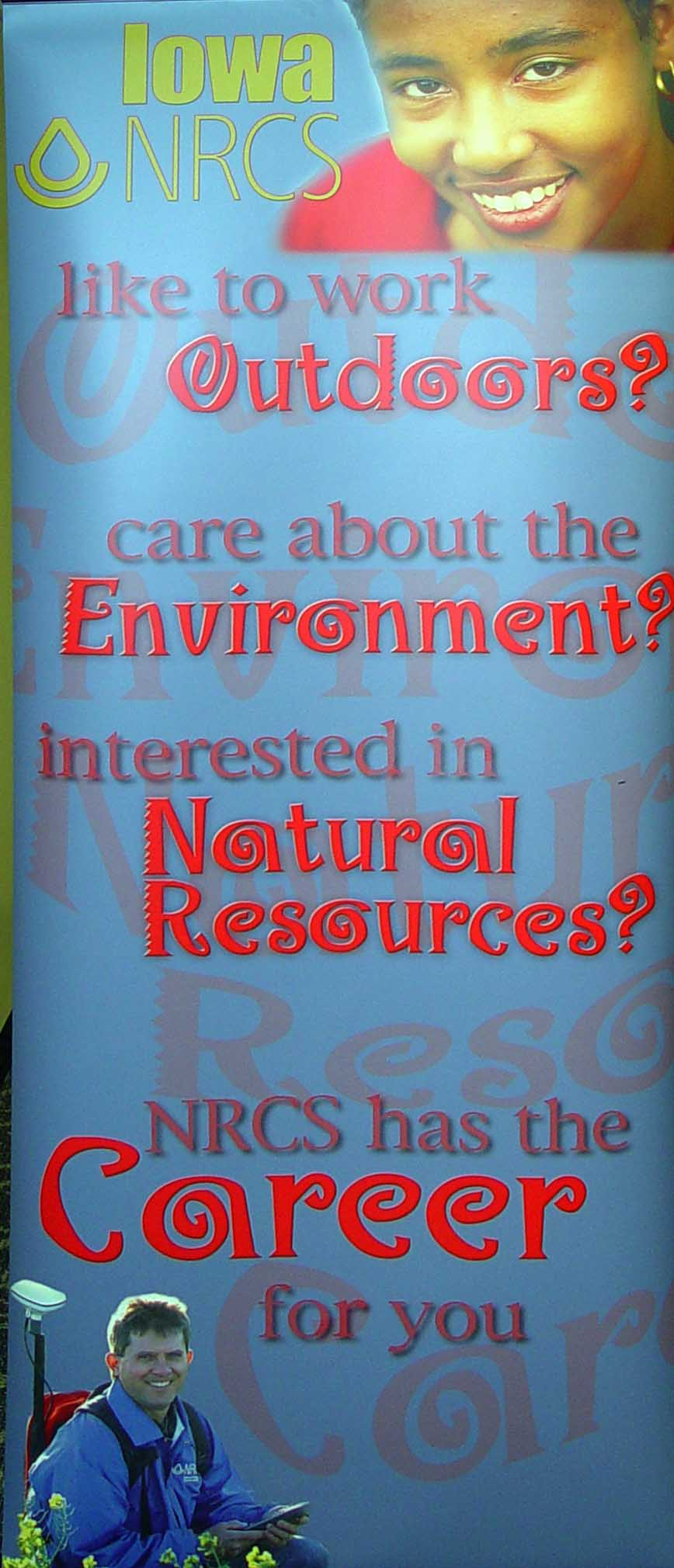 NRCS Recruiting Display