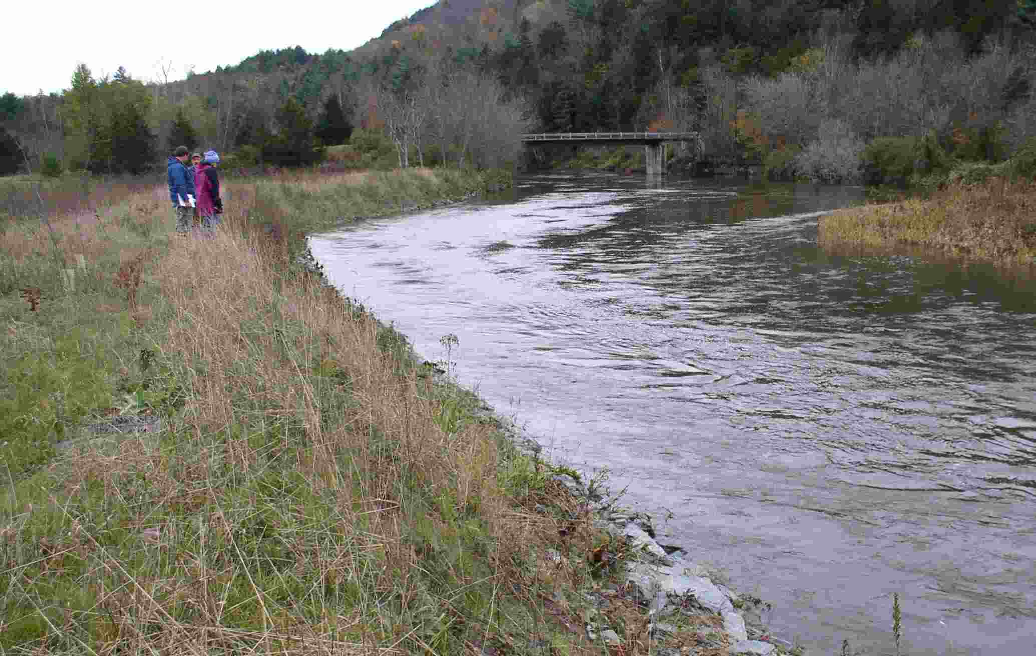 Streambank and Shoreline Protection project