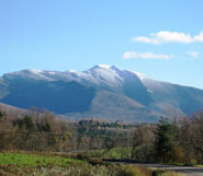 Mount Mansfield view from Cambridge, VT