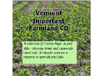 Vermont Important Farmlands CD