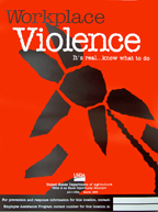 Workplace Violence poster.  PDF download.