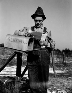 Spartanburg, 1942: Off to the army, Jack Blackwell, son of a SC farmer, reads his notice asking him to report to the local Selective Service Board for further instructions for induction into the army.
