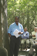 SC NRCS State Conservationist Walt Douglas speaks during the NRCS and Audubon dedication ceremony.