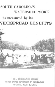 1962, South Carolina Watershed Work publication.