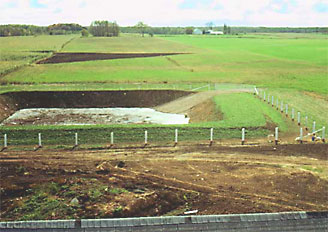 Photo of Manure storage structure.
