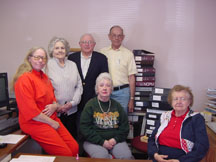 Chadron office volunteers