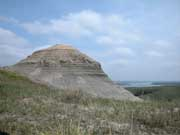 Geological formation known as Old Baldy