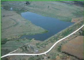 Watershed dam