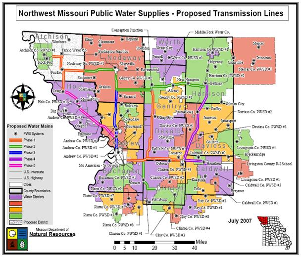 Northwest Missouri Map.State Of Missouri Report 157th Awrbiac Nrcs Arkansas