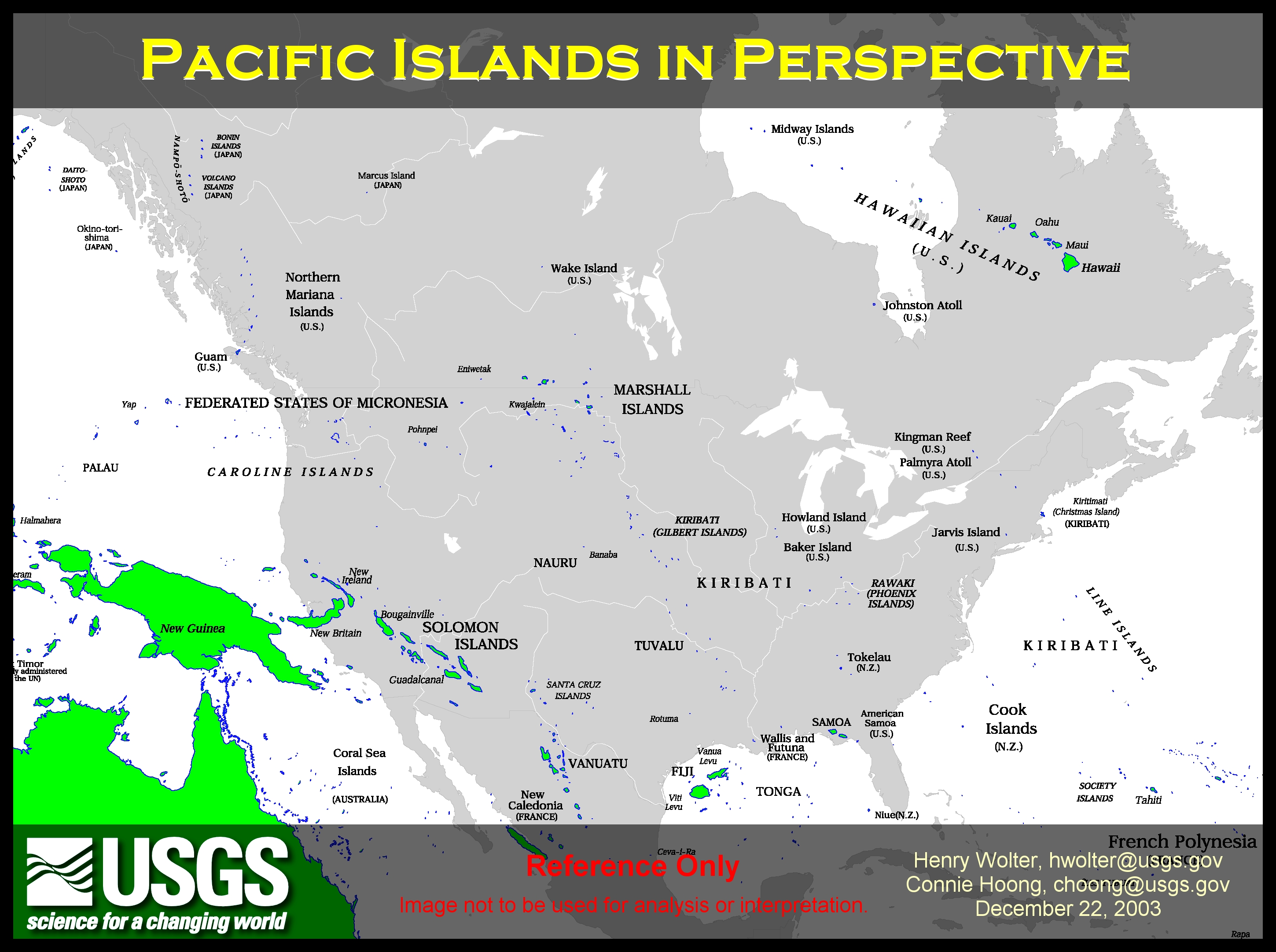 Contact Us NRCS Pacific Islands Area