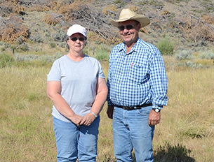The Cattersons hope to keep their ranch productive for generations to come.