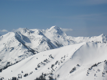 Water for irrigation and critical fish populations is stored in the snowpack of the Wallowa mountains.