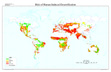 Global Risk of Human Induced Desertification map
