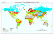 Global Soil Water Holding Capacity map