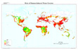Global Risk of Human Induced Water Erosion map