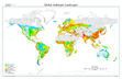 Global Anthropic Landscapes map