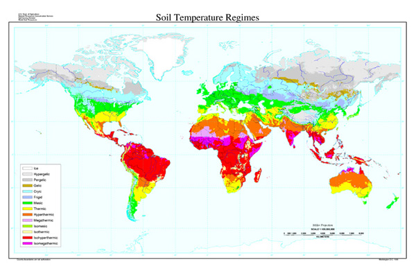 Soil temperature regimes map nrcs soils for Soil temperature