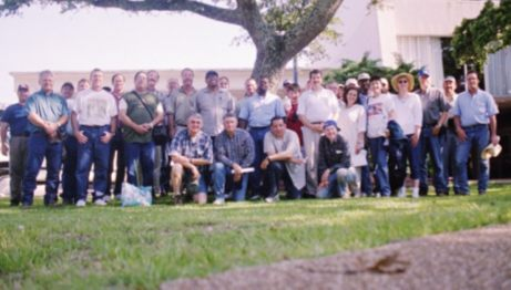 Participants outside at 2004 South Regional NCSS Conference in Biloxi Mississippi