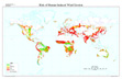 Global Risk of Human Induced Wind Erosion map