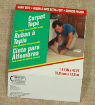 Picture of a box of carpet tape.