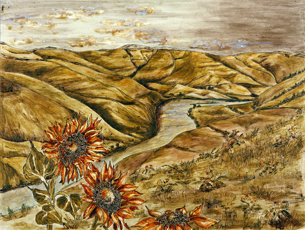 Painting With SoilJan Langs Images Of The Lewis And Clark - Nrcs soils