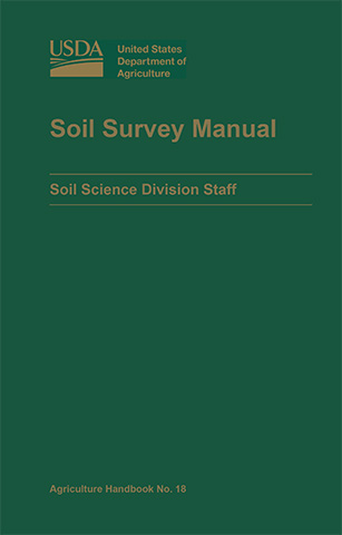 Cover of the Soil Survey Manual.