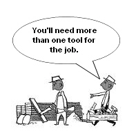 Web image: You'll need more than one tool for the job