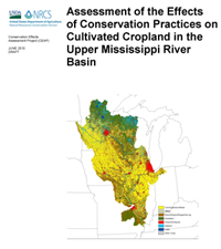 Assessment of the Effects of Conservation Practices on Cultivated Cropland in the Upper Mississippi River Basin cover image