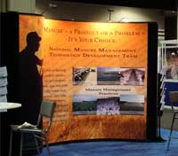 Manure Management Expo Display