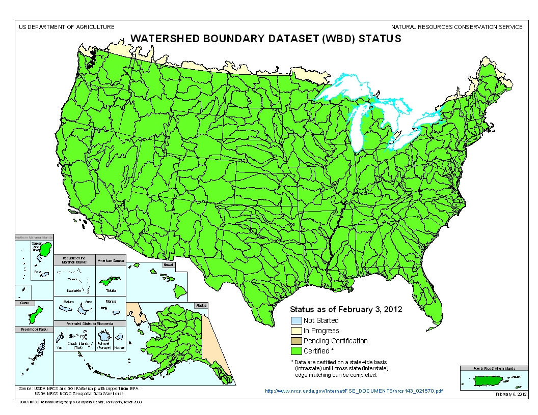 SLSS Watersheds Of Florida Understanding A Watershed - Watershed map of us