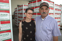 Rene and Carmen Garcia, who began their careers as field workers more than 30 years ago, now own and operate G&G Orchards, Washington only Hispanic-owned grower/packer operation.