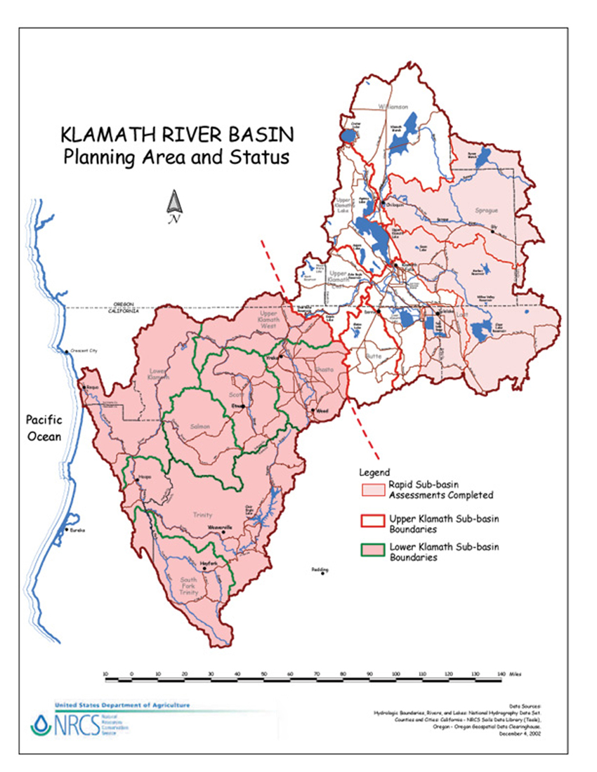 Klamath Data And Information  NRCS