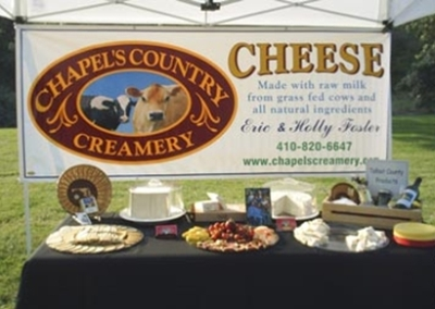 Chapel's Country Creamery products.