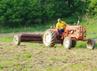 The club has logged 325 tractor hours and 35 hand labor hours so far in 2007.