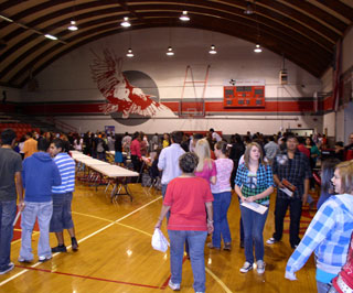Over 300 students participated in the Van Horn Career Day held in May.