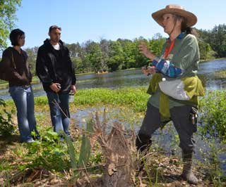 The Bayou Land Conservancy celebrated Earth Day at the Spring Creek Greenway Nature Center outside Houston.