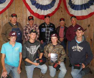 First place in the Forestry FFA Teams Contest was Avery Team #1.