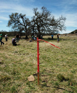 Students from across Texas participated in this year�s Land and Range Judging Contest held in Sweetwater, Texas. The event was hosted by the Nolan County Soil and Water Conservation District.