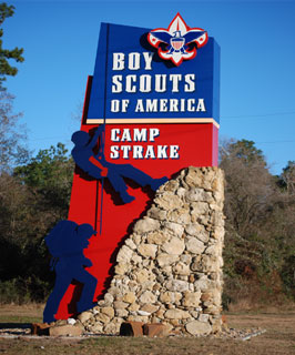 The 24th Sam Houston Area Winter Camp was held recently at Camp Strake in Conroe.