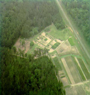 East Texas Plant Materials Center arial view