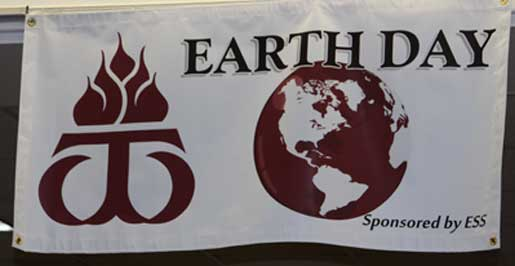 Earth Day sponsored by Earth and Environmental Sciences