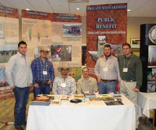 The Texas Grazing Lands Conservation Initiative (GLCI) participated in this year�s 47th Annual Texas Chapter of the Wildlife Society Meeting held in San Antonio.