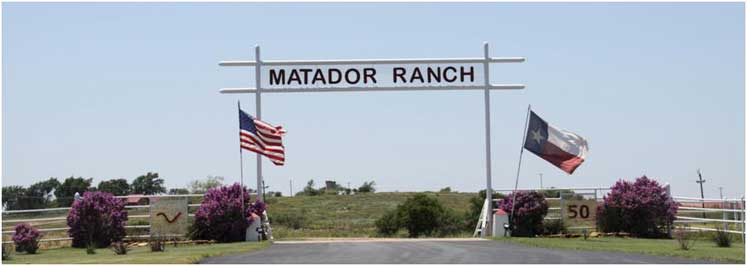 Matador Cattle Company is recognized as Region IV Environmental Stewardship Award Winner.