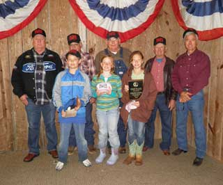 Red River County 4-H Team #1 won first place in the Forestry Contest.