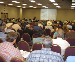 An estimated 1,300 people attended this year�s 56th Annual Texas A&M Beef Cattle Short Course held recently at Texas A&M University in College Station. Capacity crowds attended the event�s forage management two-day workshops.