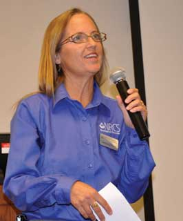 Jeanna Childers, NRCS Texas state forester