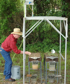 Volunteer at Rainfall Simulator