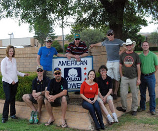 The Australian and New Zealand Nuffield scholars toured the Plains Cotton Cooperative Association denim mill in Littlefield, Texas.