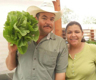 Since starting their small garden in 2004, Diana and Saul Padilla have branched out to farmers market and garden education efforts in their community.